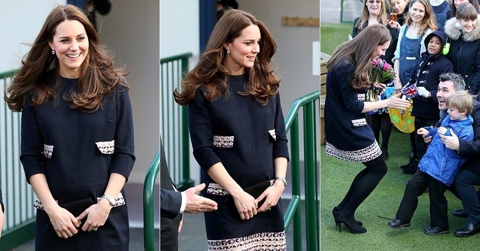 Duquesa Cambridge Gravida a Duquesa de Cambridge é