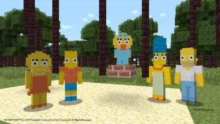 """A família Simpson chegará ao """"Minecraft"""" de Xbox 360 e Xbox One em fevereiro"""