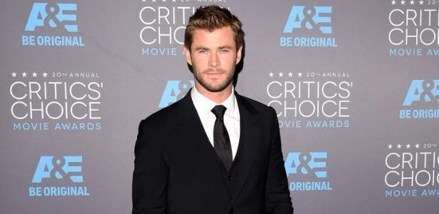 """Chris Hemsworth será recepcionista no novo filme """"Os Caça-Fantasmas"""""""