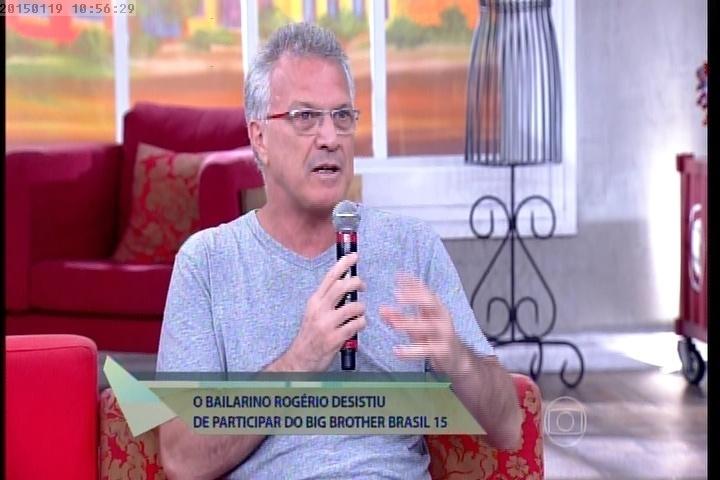 Pedro Bial fala sobre o