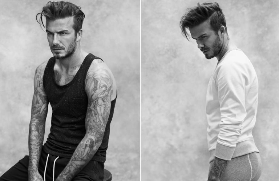 David Beckham é a estrela da nova coleção masculina da H&M