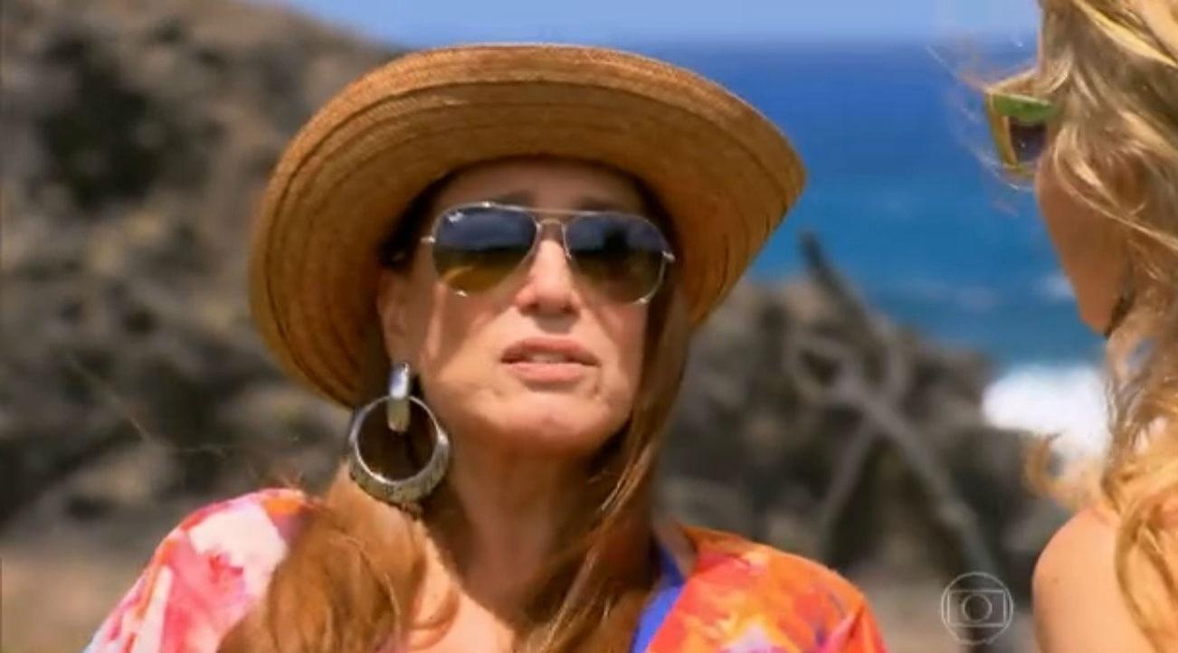 24.jan.2015 - Susana Vieira diz que sofreu Síndrome do pânico no mar do Caribe