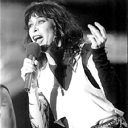 28,jan.1995 - Show de Rita Lee no estádio do Pacaembu, durante o Hollywood Rock de 1995, que marcou a primeira apresentação dos Rolling Stones no Brasil