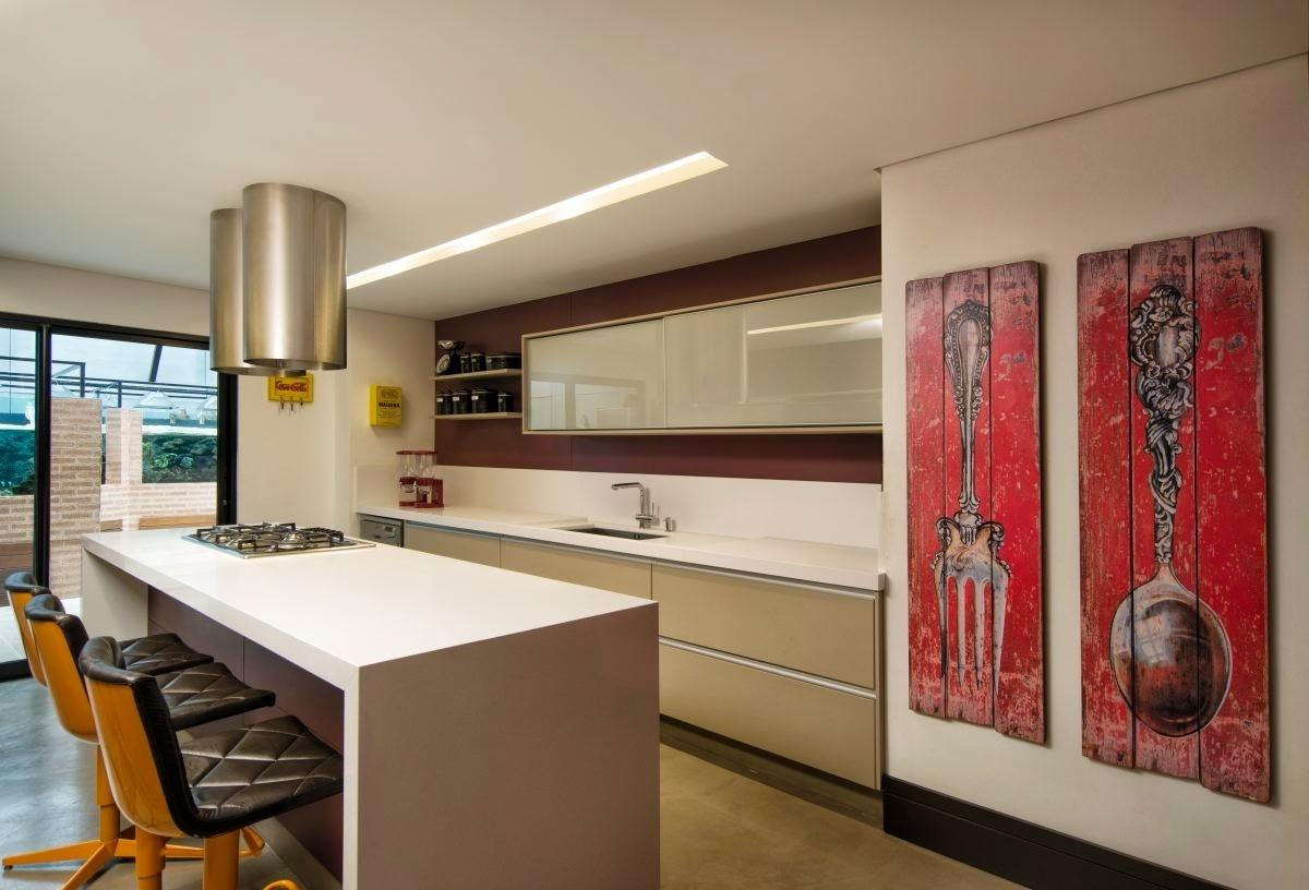 Inspire se em modelos de cozinha para decorar a sua BOL Fotos BOL  #AE661D 1200 816