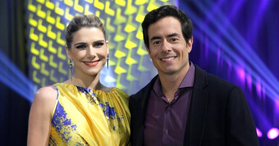 Ator Felipe Folgosi estreia na novela