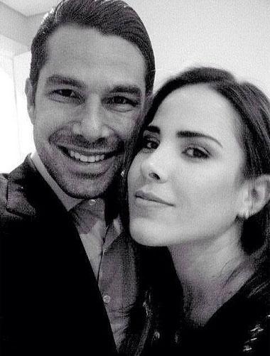 """2.fev.2015 - A cantora Wanessa Camargo se declara para o marido, o empresário Marcus Buaiz. """"Amor maior!"""", escreveu ela em post no Instagram"""