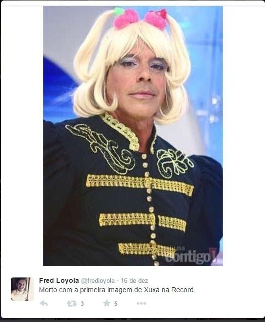 Xuxa na Record e muitos memes na internet