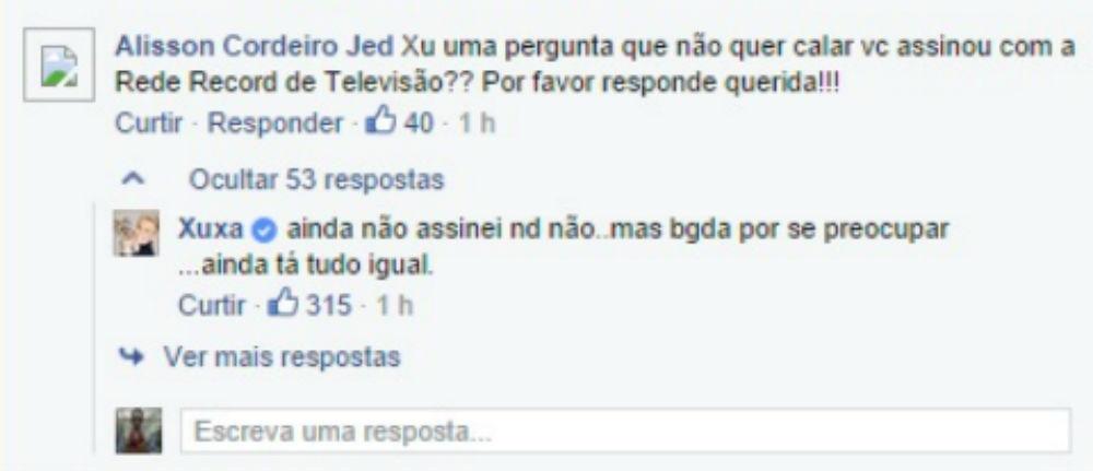 4.fev.2015 - Xuxa