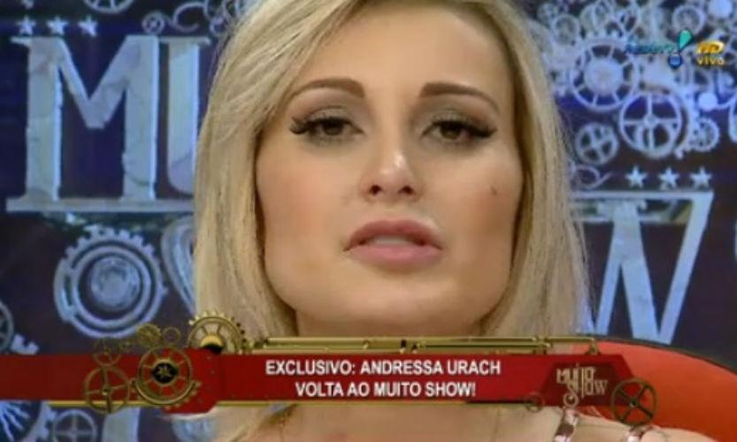 9.fev.2015 - Andressa Urach