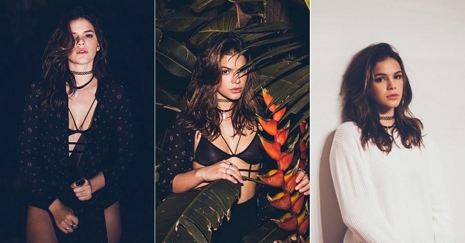 11.fev.2015 - De top, Bruna Marquezine aparece sensual em novo ensaio fotográfico