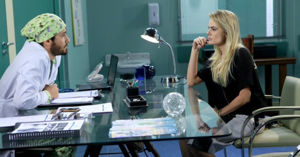 Andreia e Dr. Fernando armam contra Junior e Carol mais uma vez