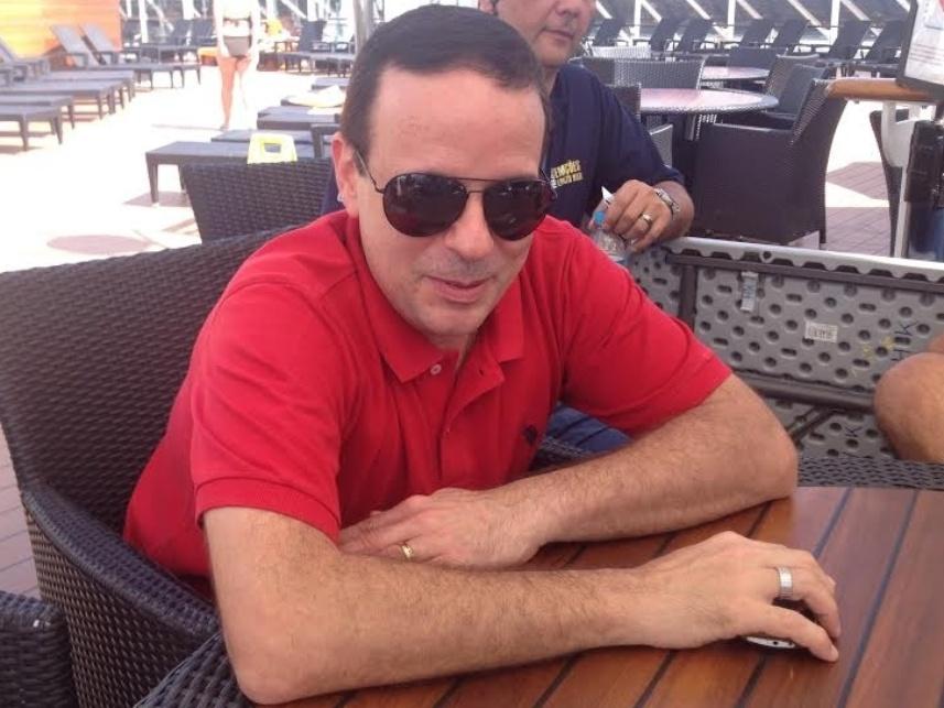 Dudu Braga, baterista da banda RC na Veia