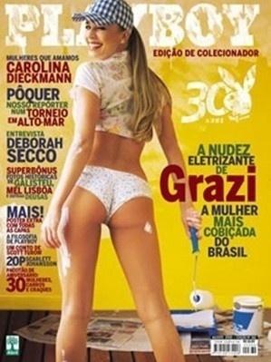 Grazi Massafera, capa da Playboy de agosto de 2005