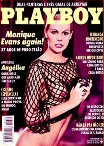 Monique Evans na capa da Playboy de novembro de 1993