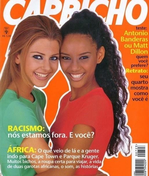 Tais Araújo contou sobre sua capa da Capricho no Instagram