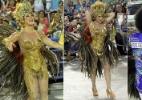 Claudia Raia, Beija-Flor e 100 anos do samba serão temas de escolas de SP - Marcos Ferreira/Photo Rio News
