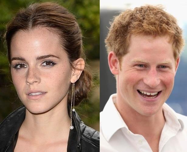 Emma Watson e príncipe Harry estariam vivendo um romance em segredo