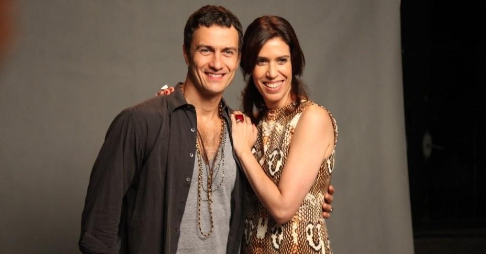"""Gabriel Braga Nunes e Maria Clara Gueiros vivem um casal na novela """"Babilônia"""""""