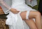 Sensualidade ou pureza? Conheça a história por trás da liga da noiva - Getty Images