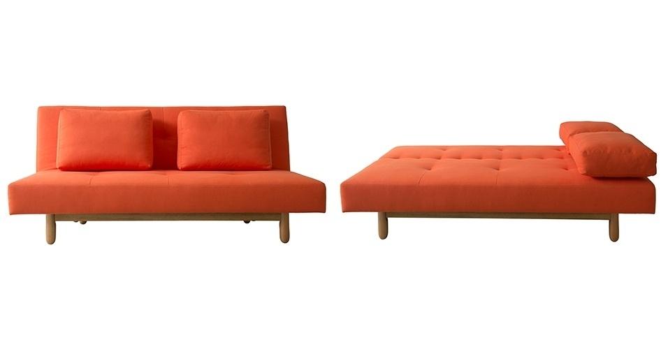 Sof cama pode ser usado em salas quartos e escrit rios for Sofa cama pequeno medidas