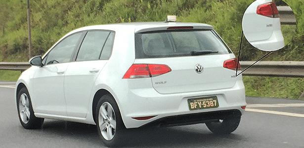 Volkswagen Golf nacional, com motor MSI de 120 cv, é flagrado em São Bernardo do Campo (SP)