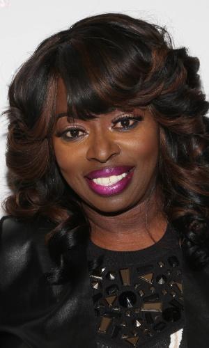 A cantora de R&B Angie Stone (foto de arquivo)