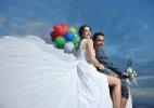 Noivas escolhem chegar na cerimônia de moto; veja como aderir - Getty Images