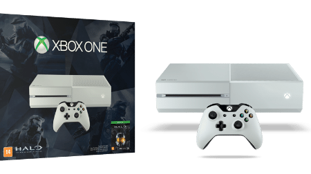 "Xbox One branco vem com controle, headset e cópia digital de ""Master Chief Collection"""