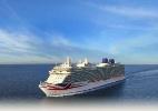 Batizado pela rainha, maior navio britânico começa a viajar na Europa - Divulgação/P&O Cruseis