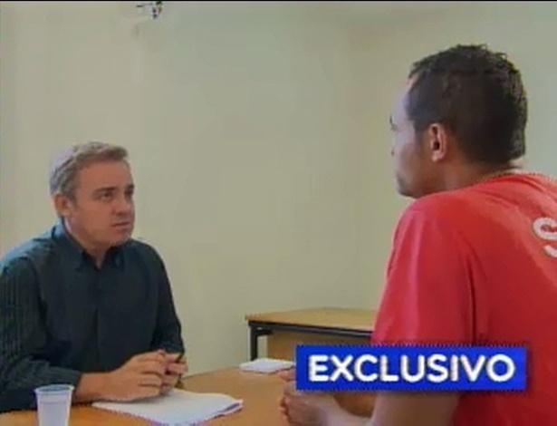 Após Suzane, Gugu entrevista o goleiro Bruno por três horas