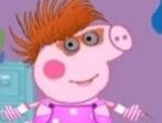 Vestir roupas da Peppa Pig
