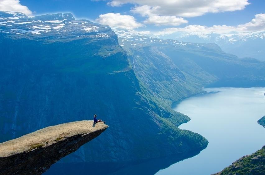 Viajes Eupacla Esta Es La Mejor Forma De Viajar Por El: Mirantes Da Noruega Oferecem Paisagens Incríveis Para