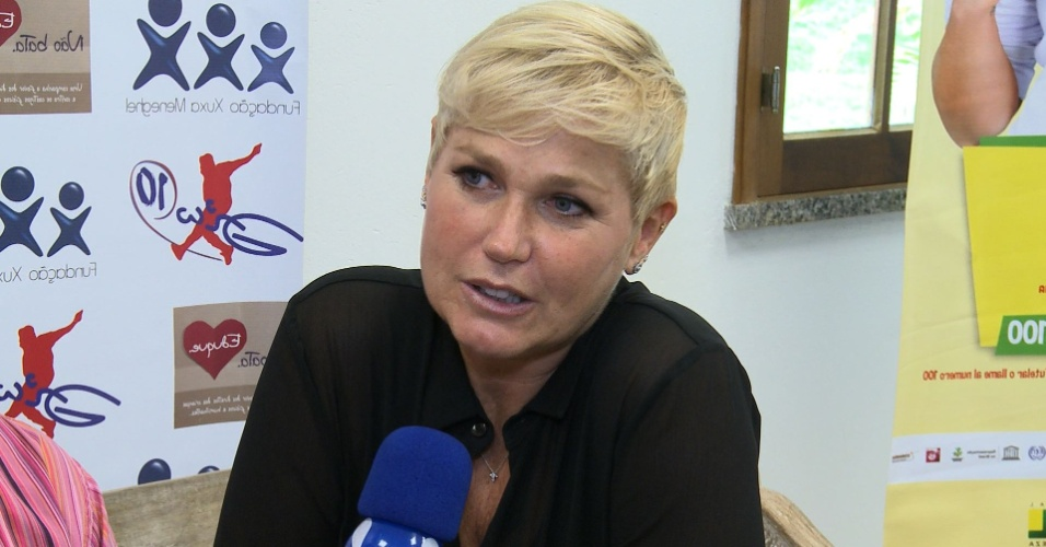 Xuxa descarta comparação com Hebe Camargo em entrevista à RedeTV!