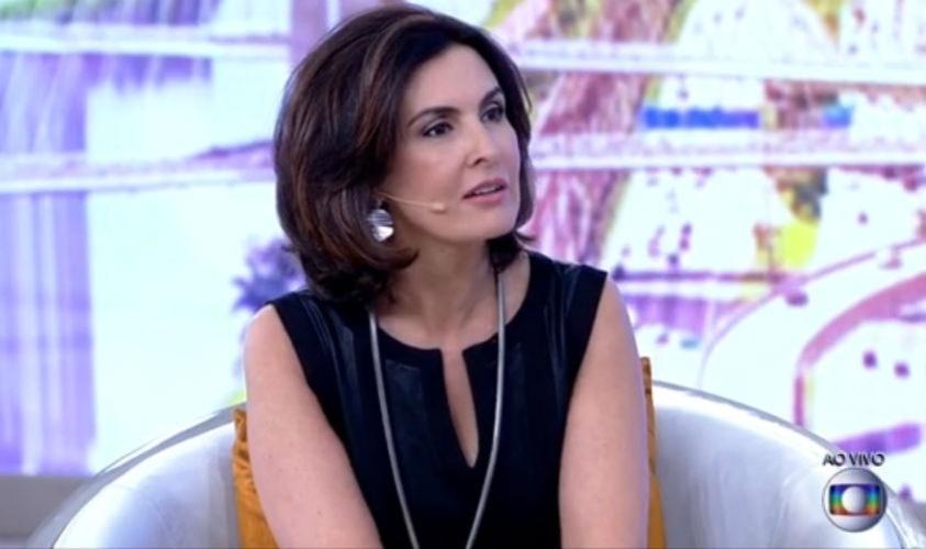 20.mar.2015 - Fátima Bernardes retorna ao