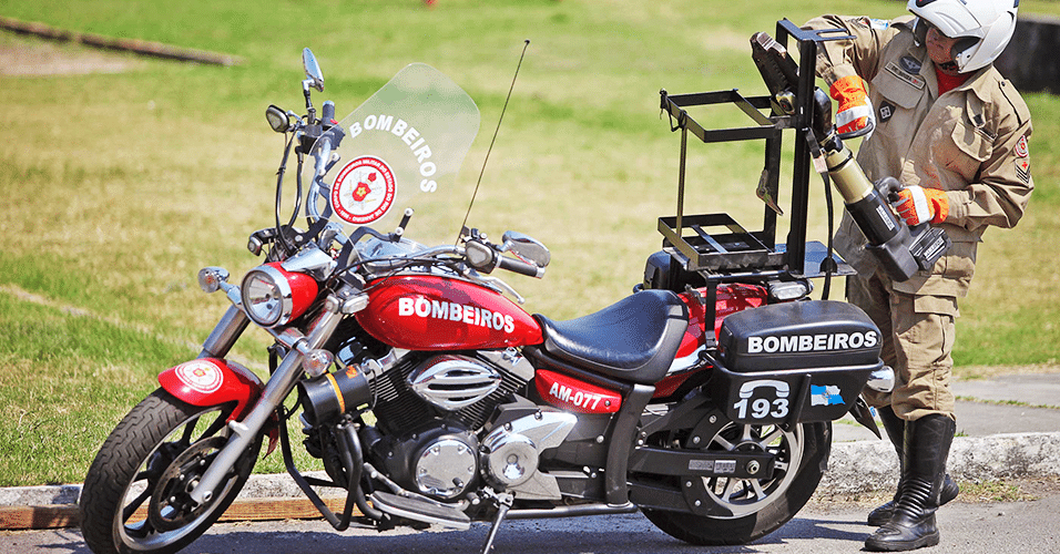Moto do Corpo de Bombeiros do Rio