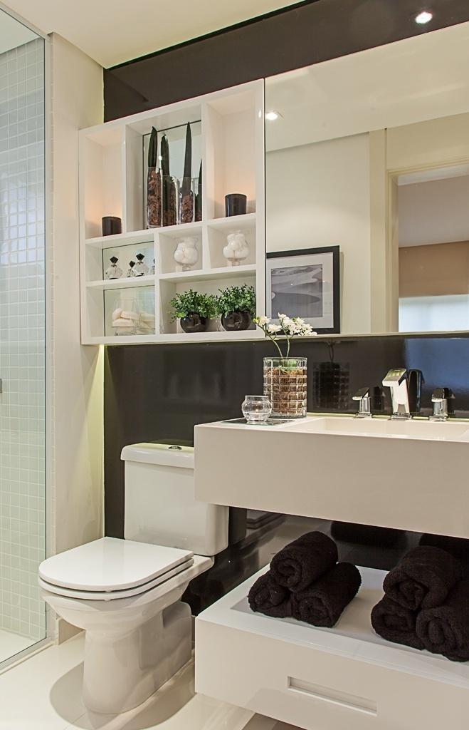 Banheiros pequenos dicas de decoração para quem tem pouco espaço  BOL Fotos -> Cuba Banheiro Amoedo