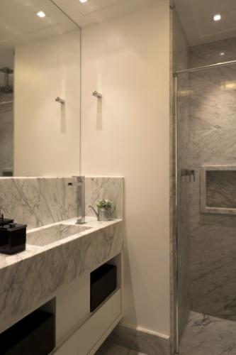 Banheiros a partir de 2,72 m² são ampliados por louças e móveis sob medida   -> Cuba Aluminio Banheiro