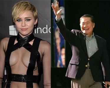 Miley Cyrus e George Takei criticam lei de Indiana, EUA que permite que estabelecimentos comerciais proíbam presença de gays