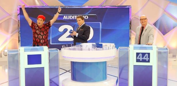 """Silvio recebe Marcelo Tas e Sérgio Mallandro no """"Jogo das 3 Pistas"""""""