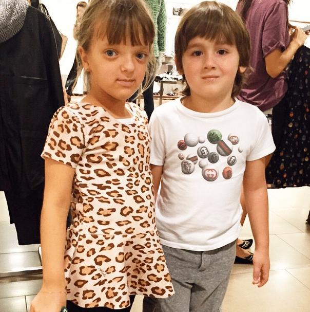 28.mar.2015 - Otávio Mesquita posta foto do filho com Rafinha Justus e imagina um casamento no futuro: