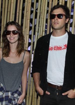 Quando ainda não tinham confirmado a relação, Nathalia e Sergio chegaram juntos ao festival Lollapalooza