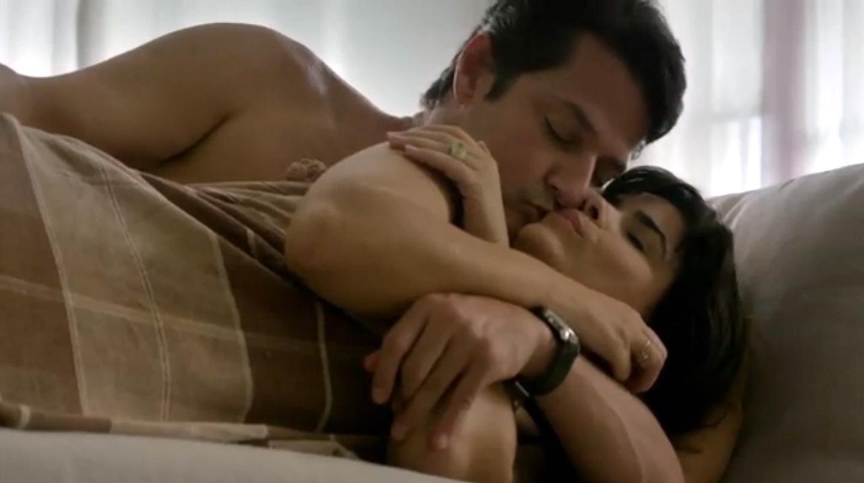 Marcelo Serrado e Vanessa Giácomo em cena do filme