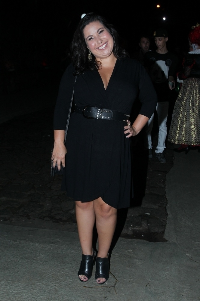 30.mar.2015 - Mariana Xavier se diverte na festa de aniversário de 22 anos de Anitta na Mansão Carioca, na zona sul do Rio de Janeiro, nesta segunda-feira