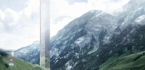Com estrutura espelhada, o projeto do hotel tem a altura do Empire State Building