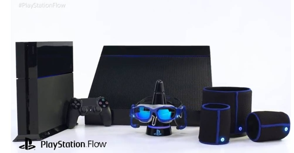 Entrando na onda da realidade virtual, que tal fazer isso até em baixo d'água com o PlayStation Flow, o novo acessório