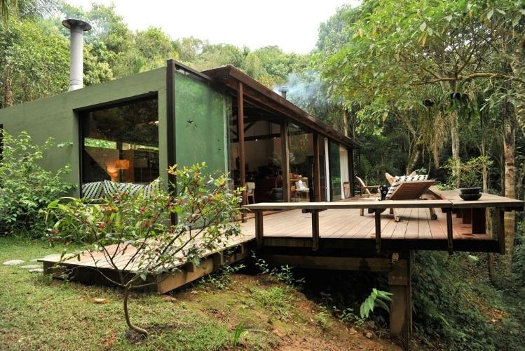 Casas de campo e praia suntuosas s o destaque em pr mio de - Interiores casa de campo ...
