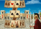 """[Jogos Online] Selecione os pares das cartas em """"Spartan Solitaire"""" - Reprodução"""