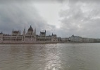 Google Street View capta imagens de cruzeiro pelo rio Danúbio, na Europa - Reprodução/Google Street View
