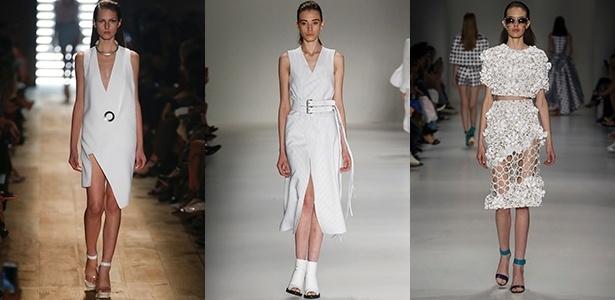 Looks brancos monocromáticos apareceram na Animale, Uma e PatBo