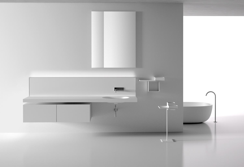 Os gabinetes Pianura, de Monica Armani para a Boffi